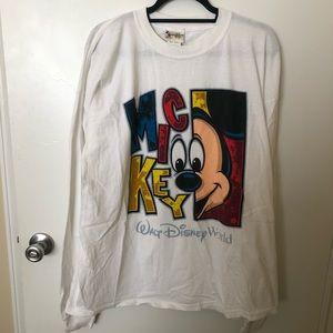 Walt Disney World Vintage Long Sleeve T-shirt 2X